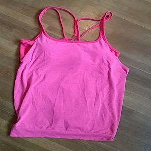 Pink Gap Fit Workout Tank